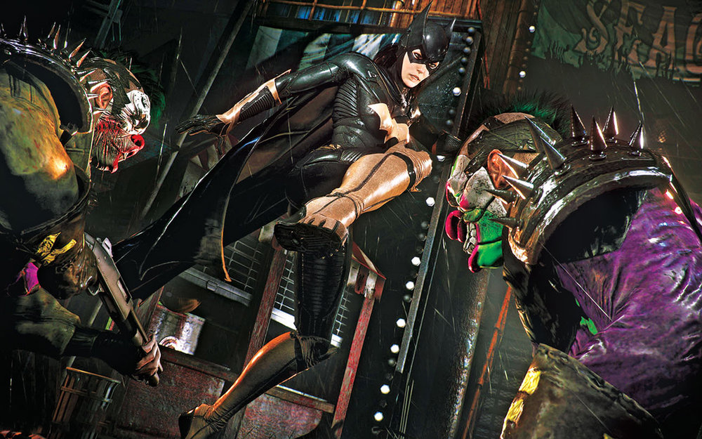 A Matter of Family  allows players to take control of Barbara Gordon/Batgirl for the first time in the  Batman: Arkham  series, telling a satisfying — if short — prequel side story.