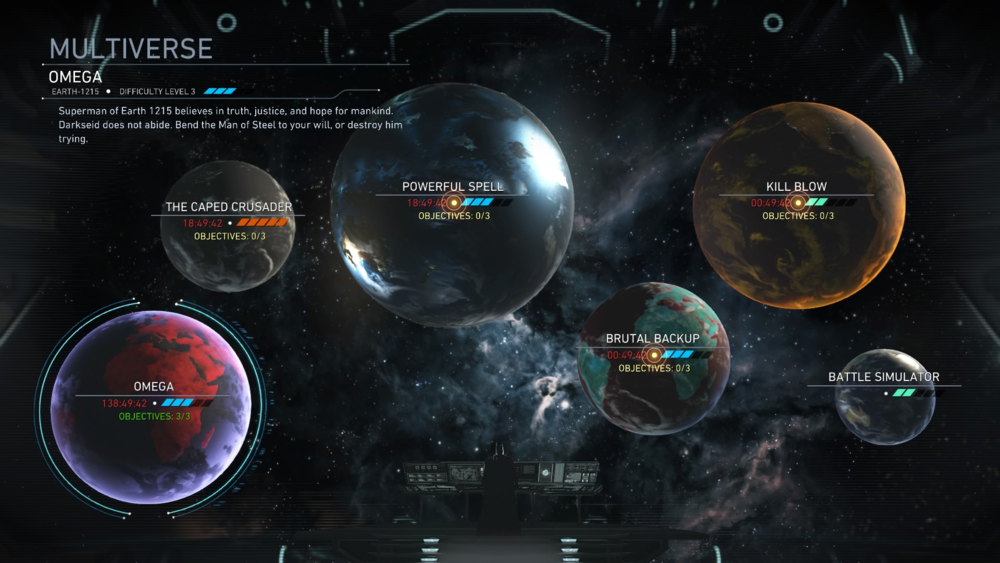 "The new ""Multiverse"" mode allows players to hone their characters and gear to take on tough enemies in continuously refreshing situations."