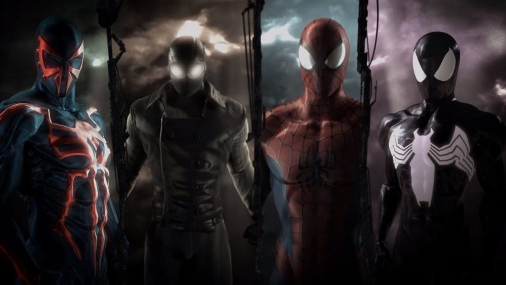 Developer Beenox's freshman effort with Spidey proves to be an extraordinarily fun, impressive, and  new  take on what can make a great Spider-Man game. Temporarily abandoning the open world,  Shattered Dimensions  tells a compelling story steeped in the mythology of the comics, with tight controls and varied environments. Which means it's great.