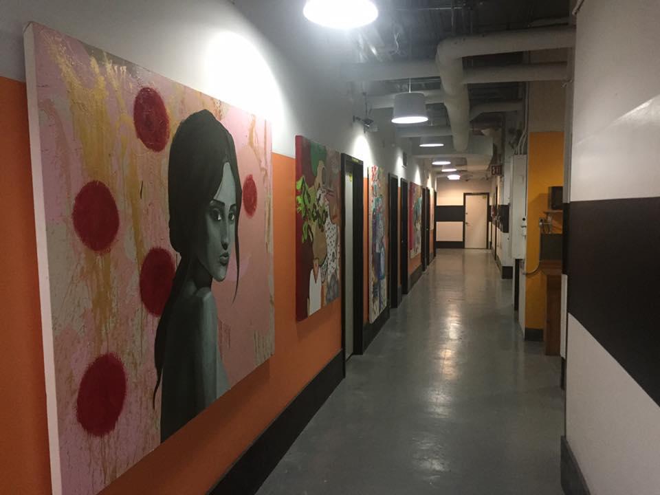 44 Stewart (REmerge) hallway art