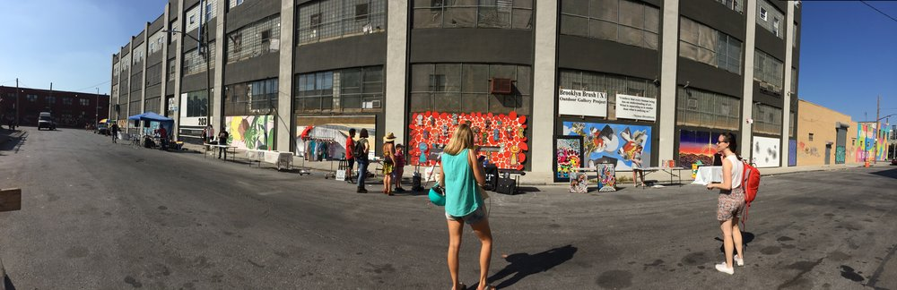 open studios block party with Support Creativity