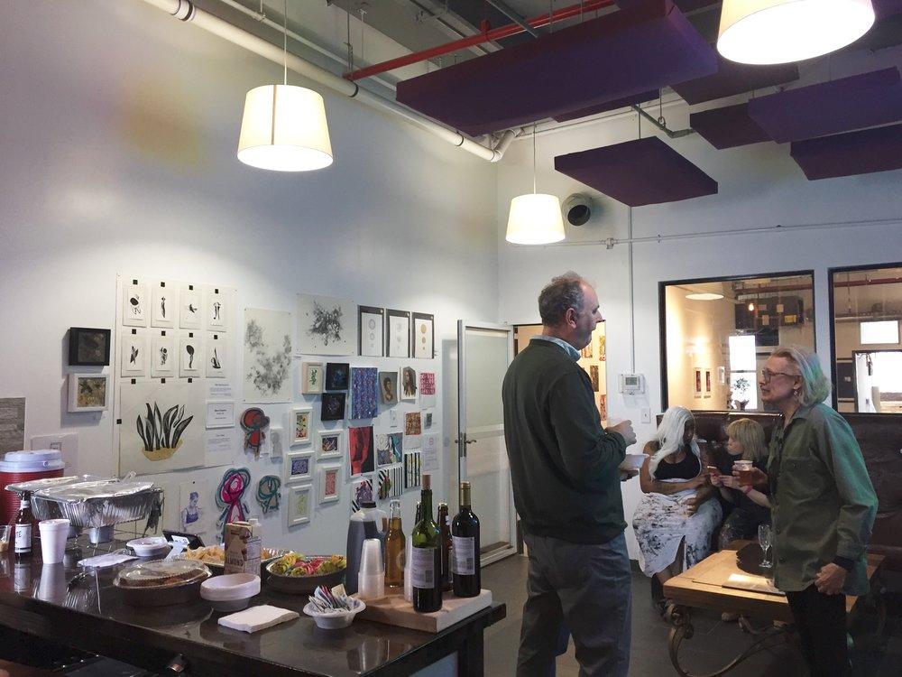 March open studios