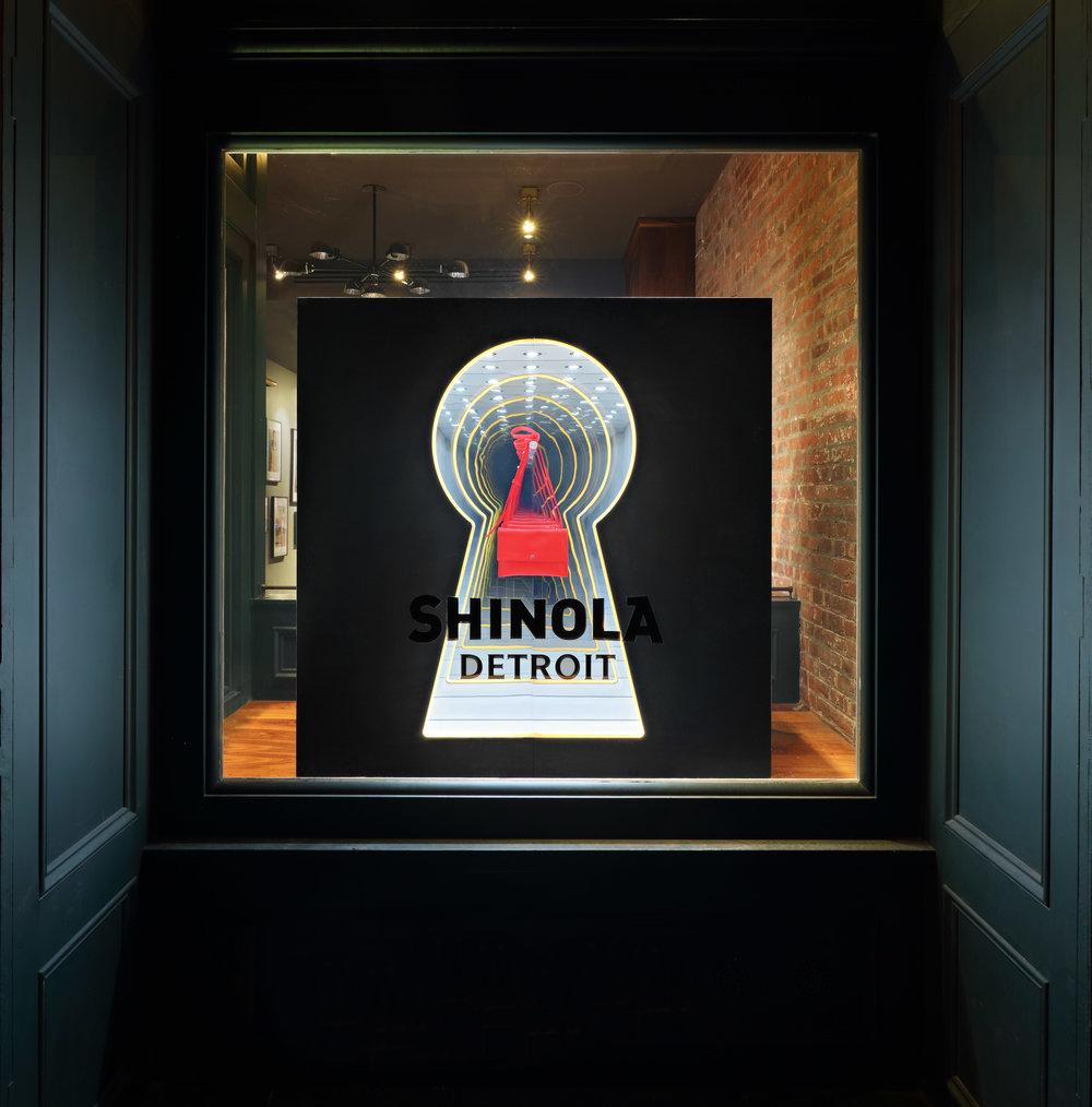 Shinola Keyhole Infinity Mirror