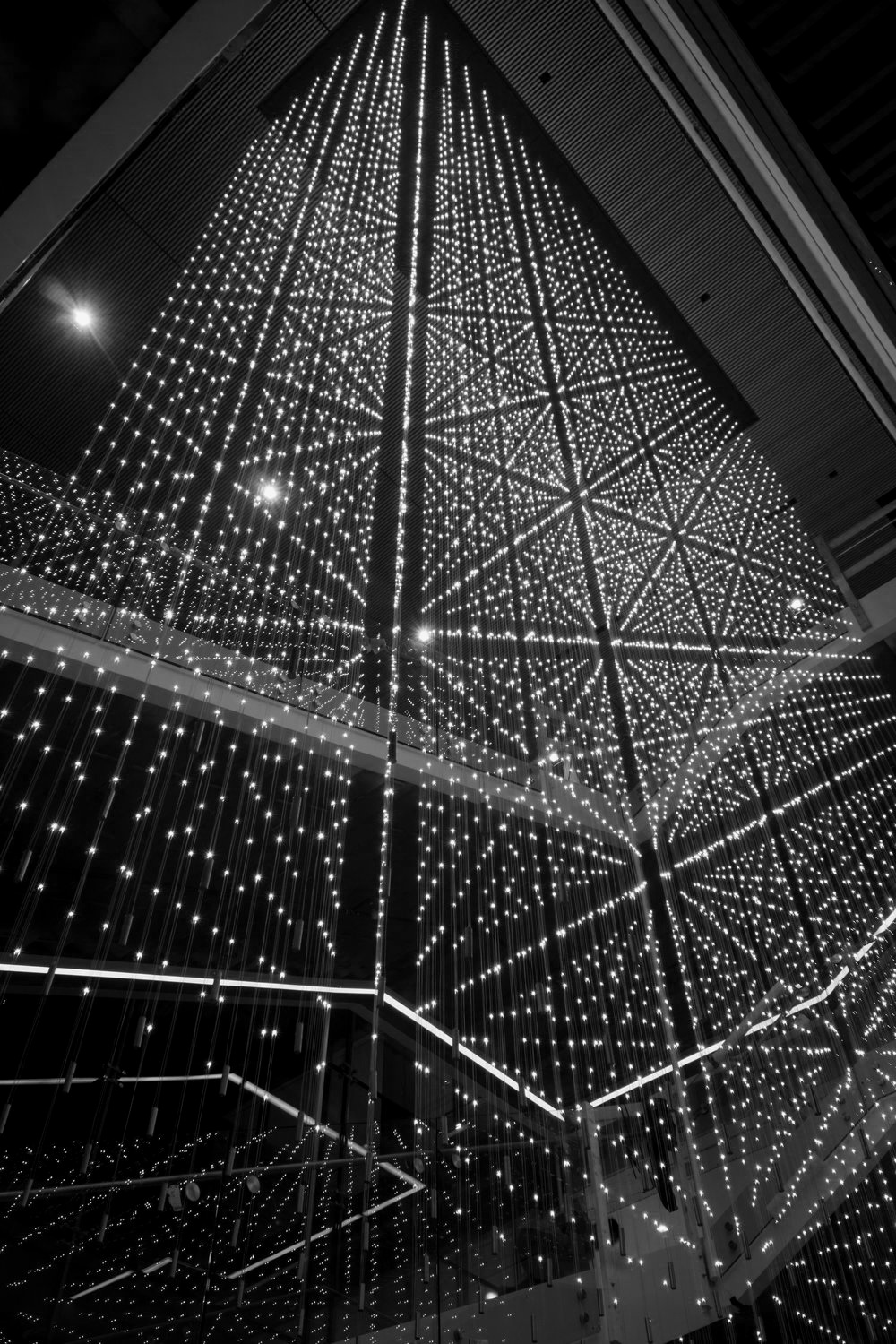 Perot Family Headquarters LED Chandelier