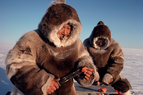 Inuit Arctic Char Fishermen