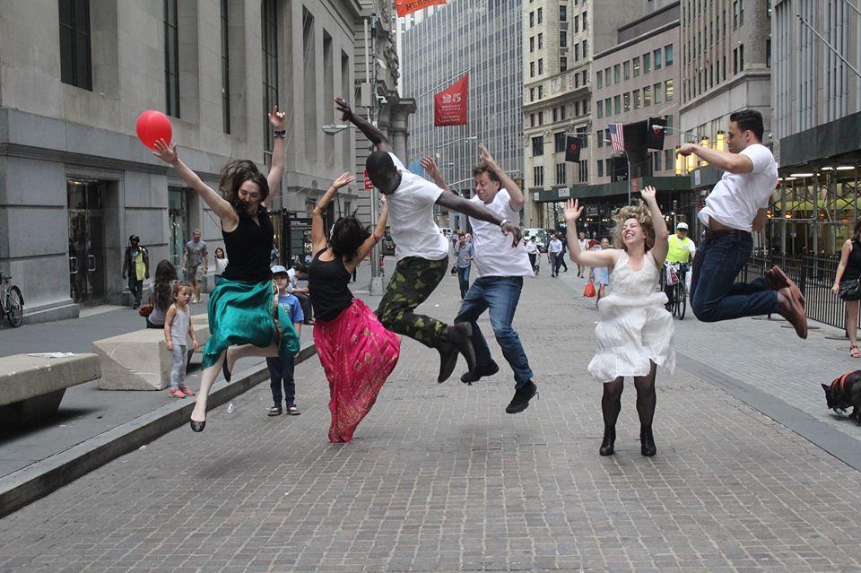 Krystal Sobaskie in Broken City: Wall Street Promo