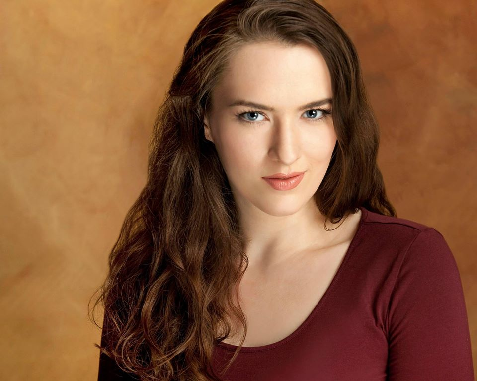 Theatrical headshot of actress, Krystal Sobaskie.