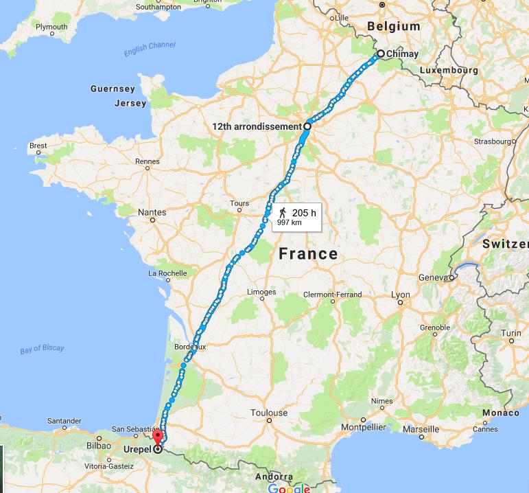 4240km 575 days
