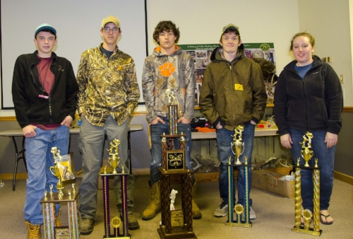 """Senior Division:  1st place – Waylon Welch, age 13, Ridgeville, S.C. with """"Tonic.""""  2nd place – Joshua Knotts, age 16, Sumter, S.C. with """"Judge.""""  3rd place – Madison Whetsone, age 17, Norway, S.C., with """"Ty.""""  4th place – Brian Smith, age 14, Branchville, S.C., with """"Hoss.""""  Sportsmanship Award – Wil Johnson, age 15, Whitmire, S.C., with """"Gracie."""""""