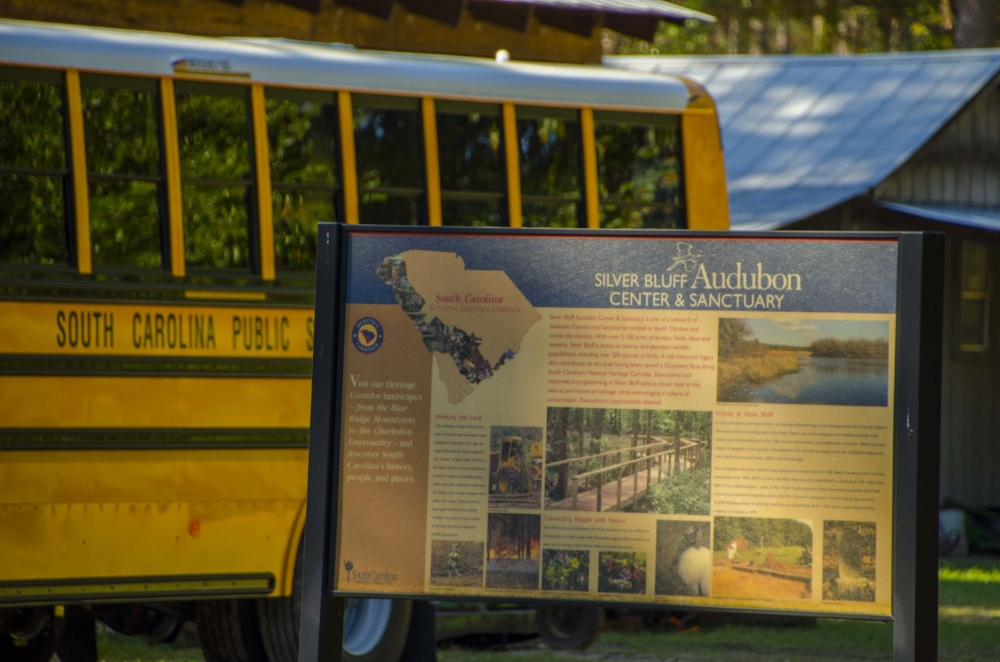 Audubon South Carolina's Silver Bluff Center & Sanctuary near Jackson is a popular destination for school field trips. (SCDNR photo by David Lucas)