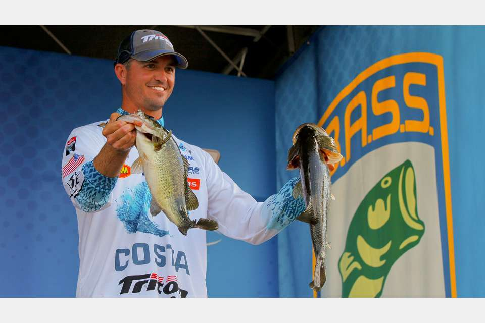 In 2015, Casey Ashley, a Bassmaster tour professional from Donald's, S.C., took home top honors at the Bassmaster Classic. [photo courtesy Bassmasters]