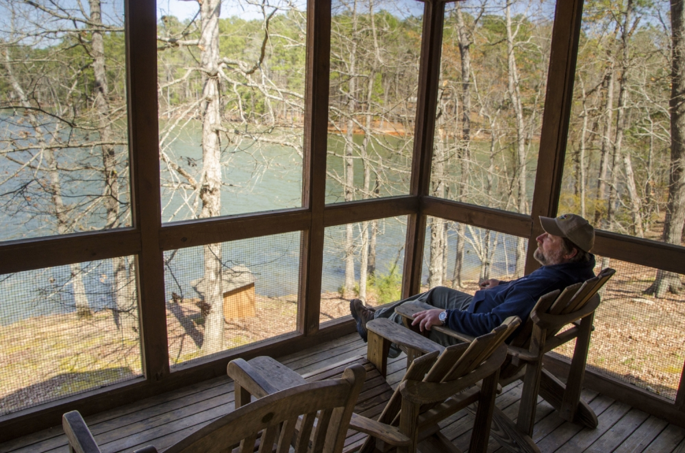 Just One Problem With The Beautiful Views From The Villa Screened In  Porches.u0026nbsp