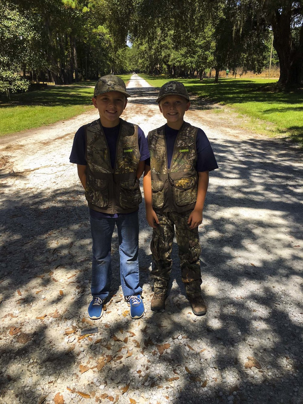 Young hunters ready to go at Samworth WMA.