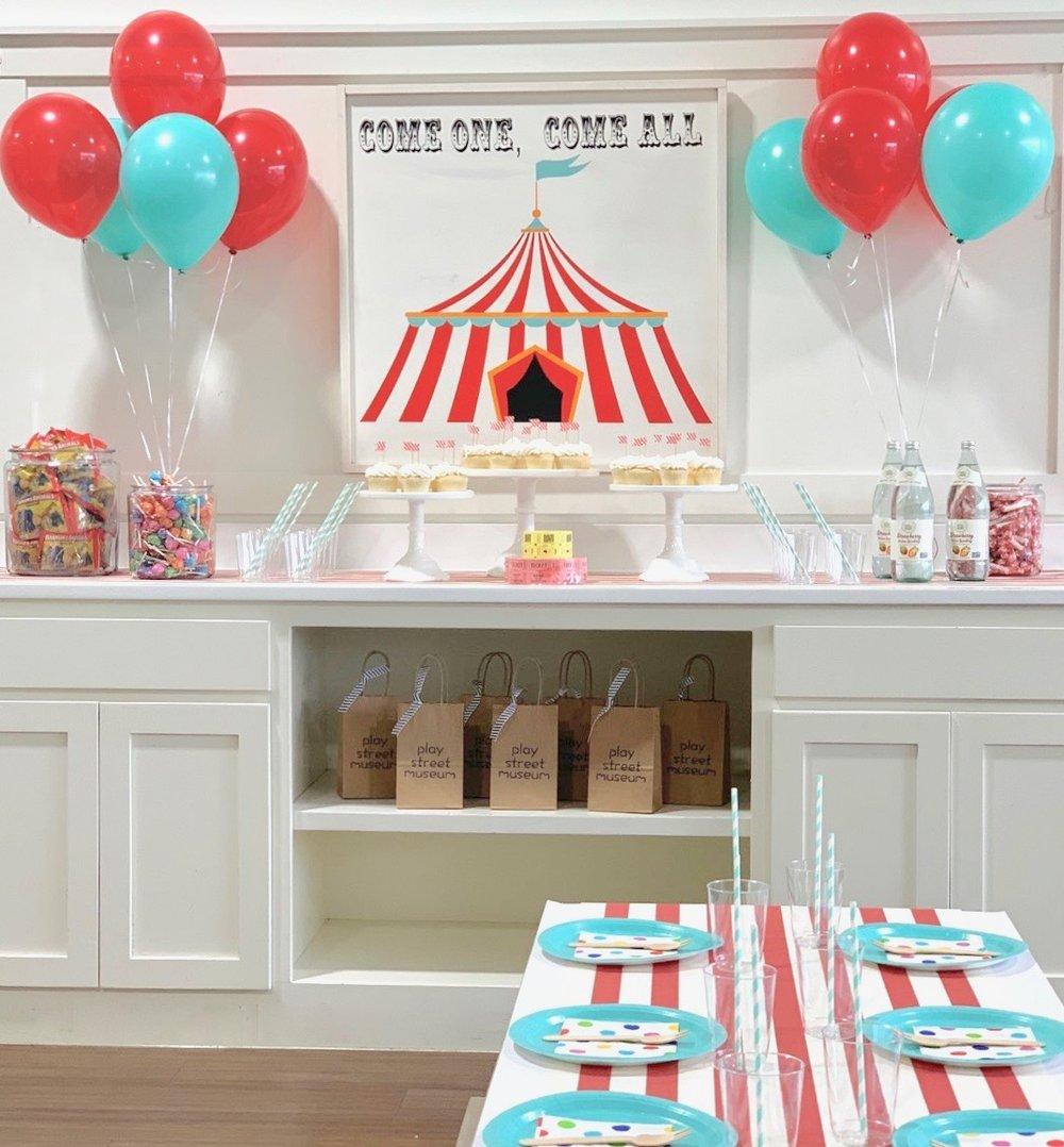 children's indoor parties Plano DFW Frisco