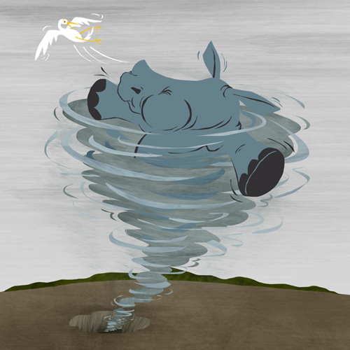 @ Courtenay Fletcher from The Rhino Who Swallowed a Storm