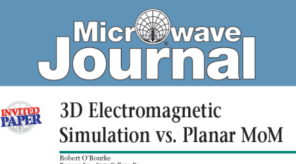 3D Electromagnetic Simulation vs  Planar MoM — Remcom - Articles and