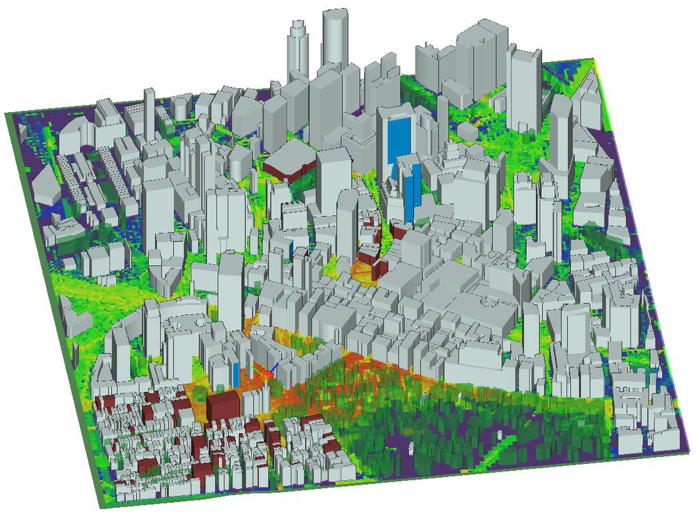 La propagación urbana