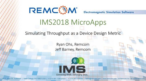 Wireless EM Propagation Software - Wireless InSite — Remcom