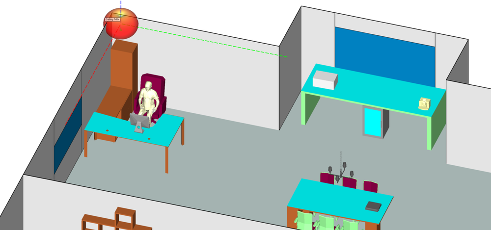Location of AP in corner of office.png
