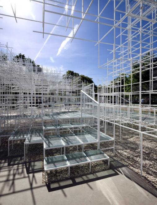 Serpentine Gallery Pavillon 2013 von Sou Fujimoto