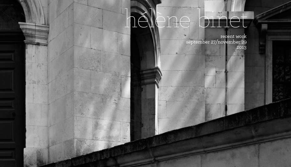 Hélène Binet – Recent Work _1