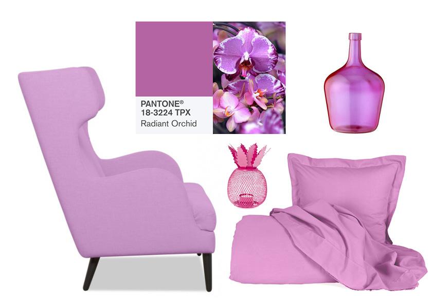 Metropolitan Circus Collage Pantone Radiant Orchid