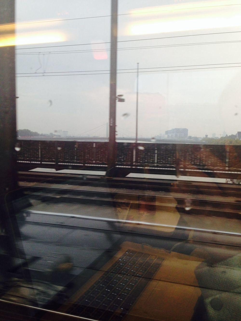 Mit dem Zug nach Paris