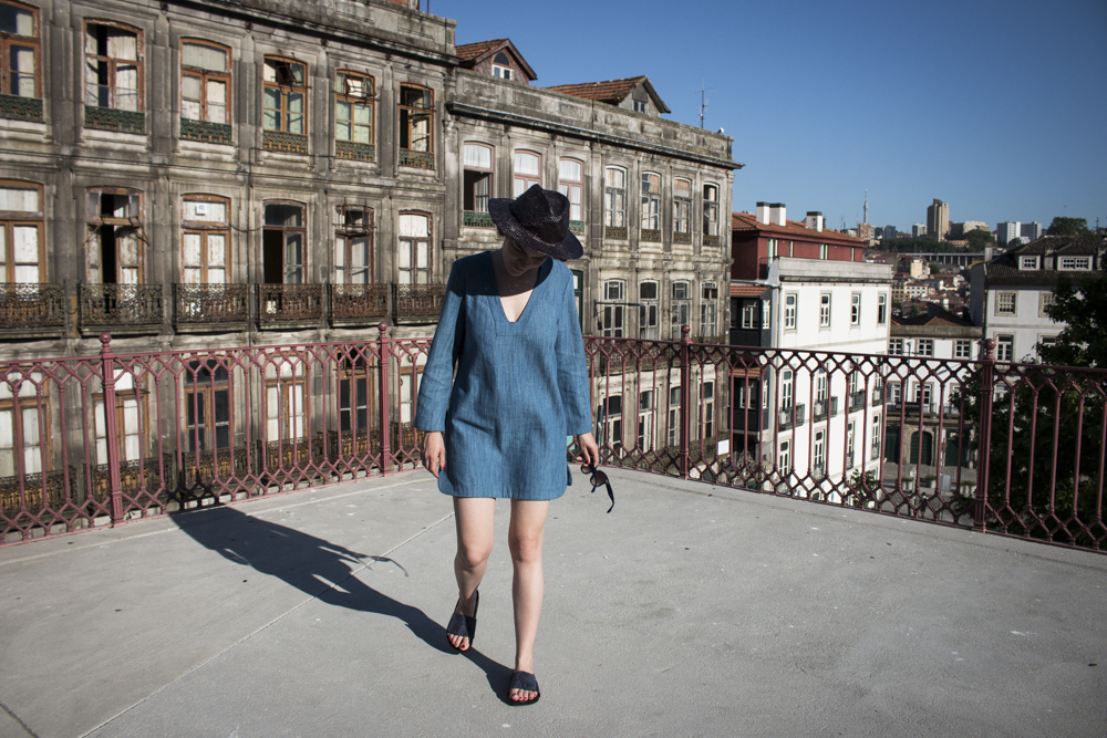 Denim Dress Porto