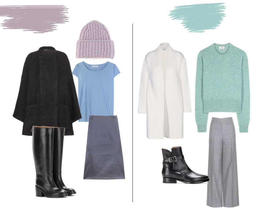 Acne Pre Fall Pastell