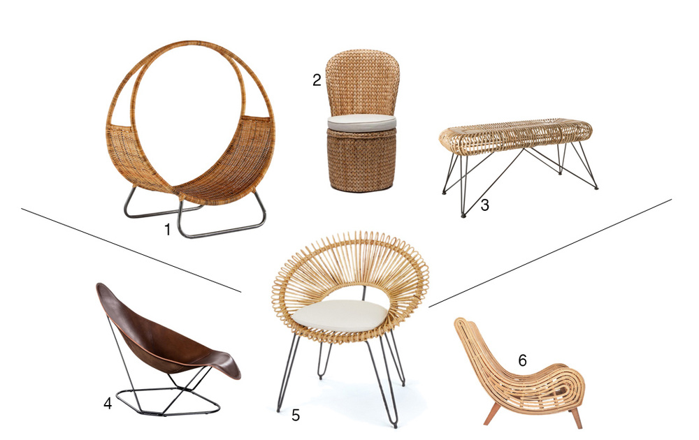 Rattan Chairs/ Straw Chairs Design