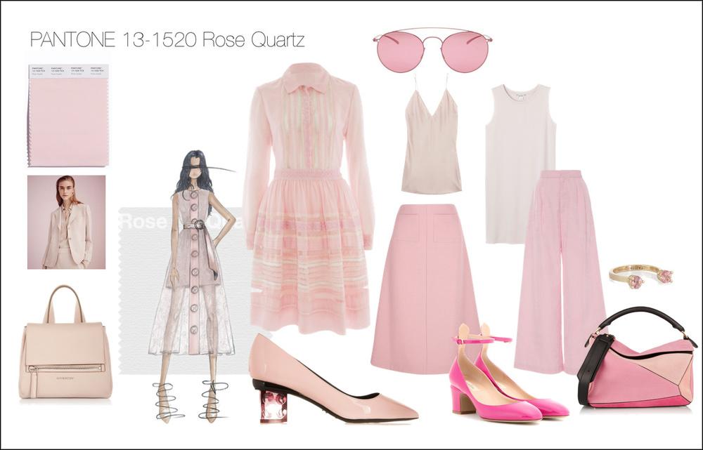 Light Pink eine der Farben für 2016