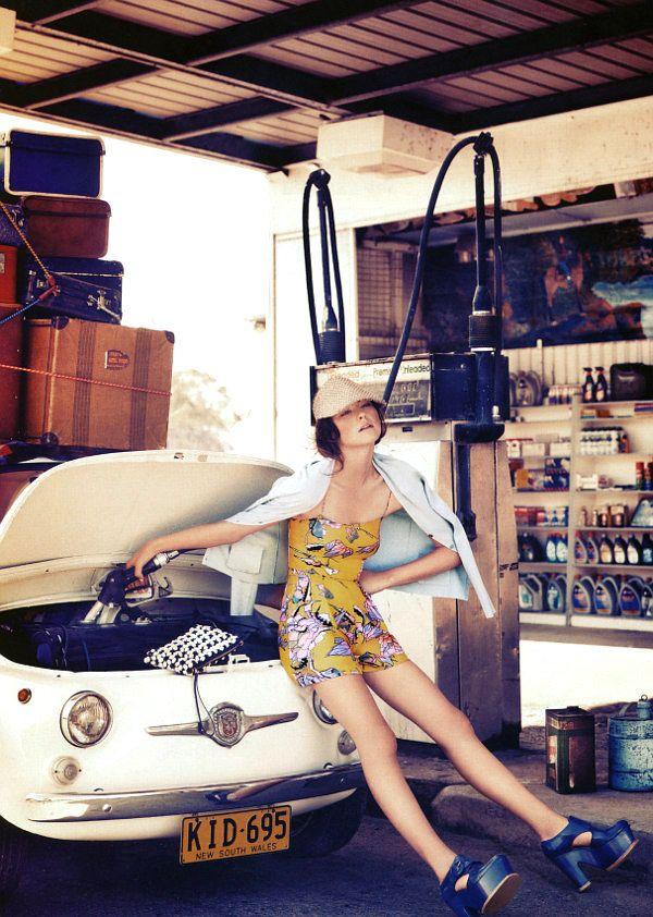Corrie Bond for Marie Claire Australia