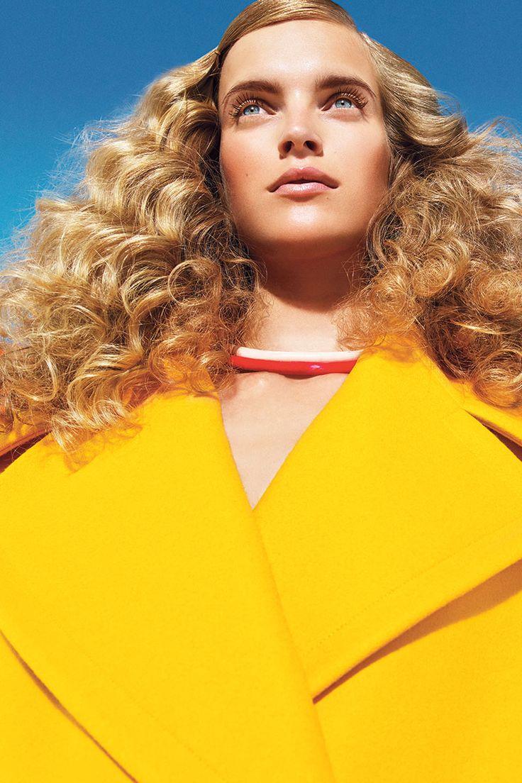 Fall 2013 Bright Colors Fashion Editorial - Harper's BAZAAR