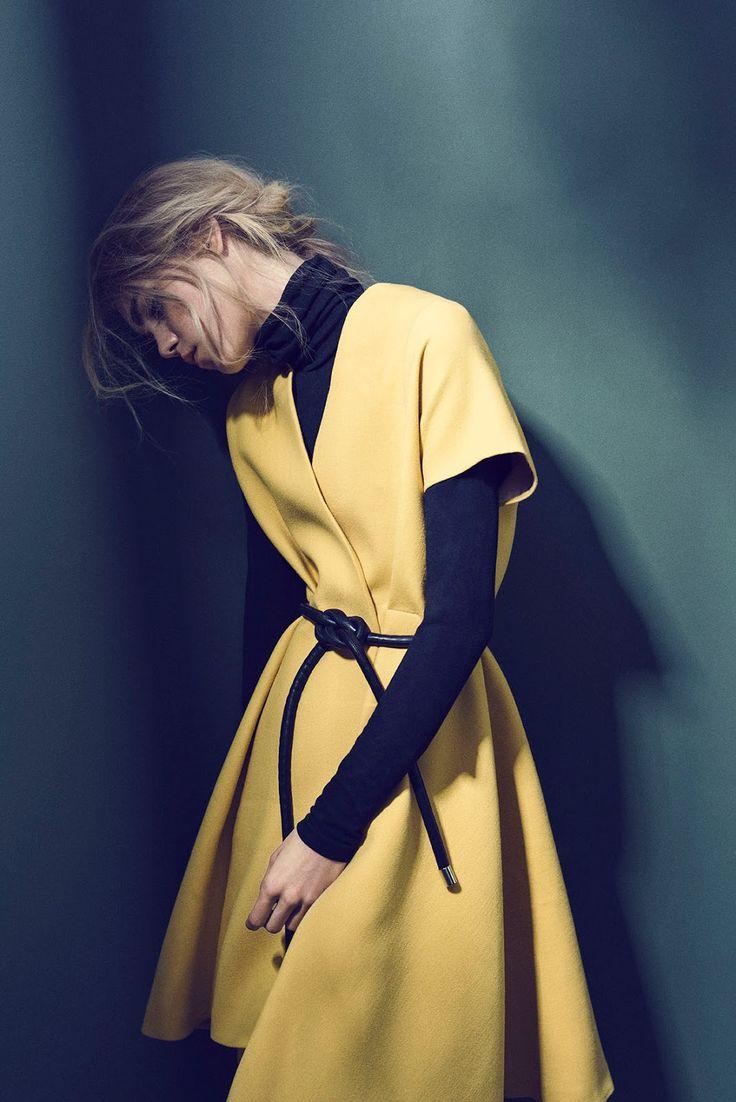 Line Brems by Sune Czajkowski for Elle Denmark October 2015