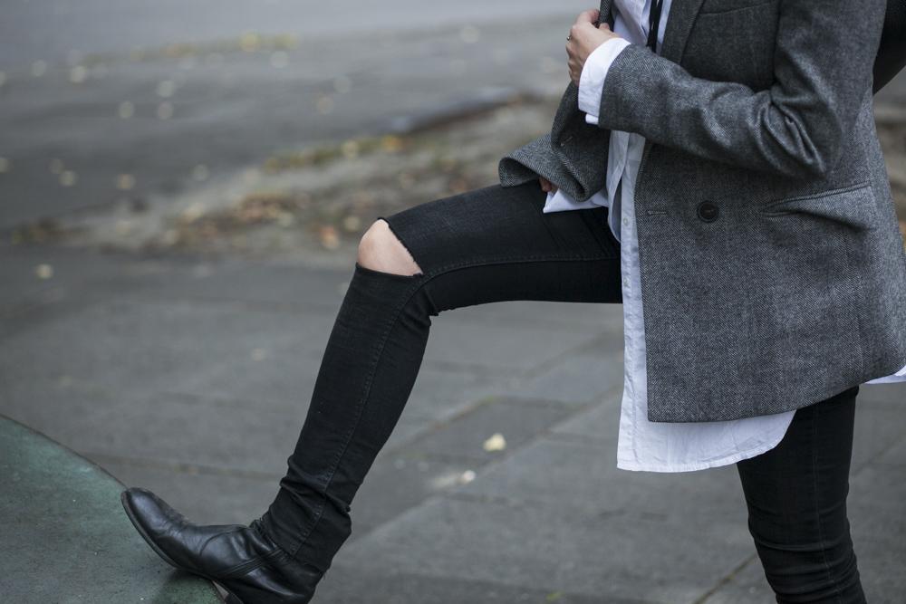 Outfit: Brit Style & 5 Regeln für das Schwangerschafts-Styling