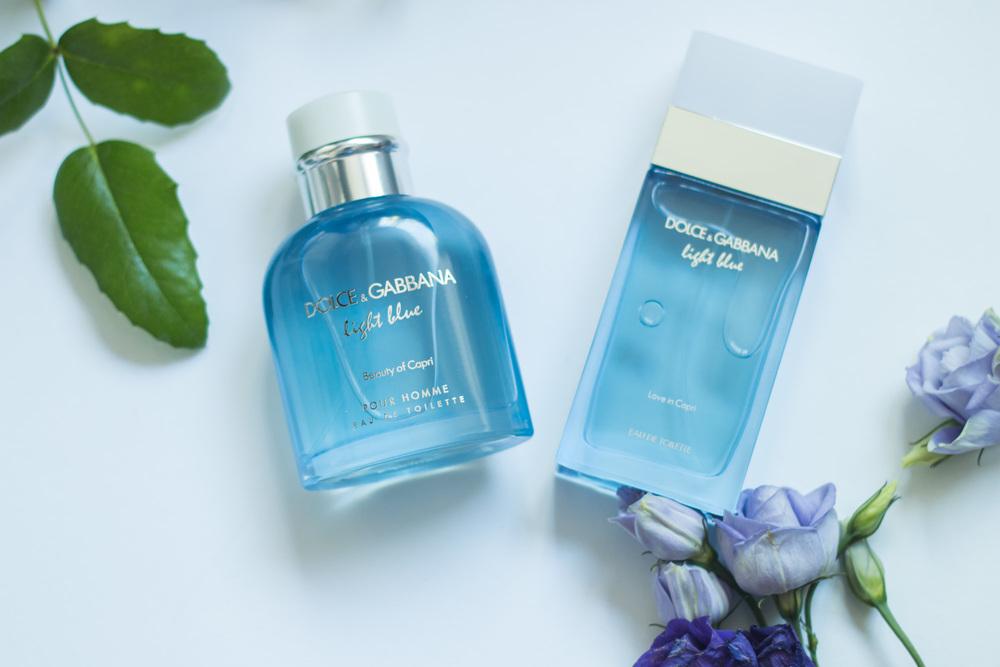 "Dolce Gabbana Light Blue "" Beauty of Capri  &  Love in Capri "" Man & Woman"