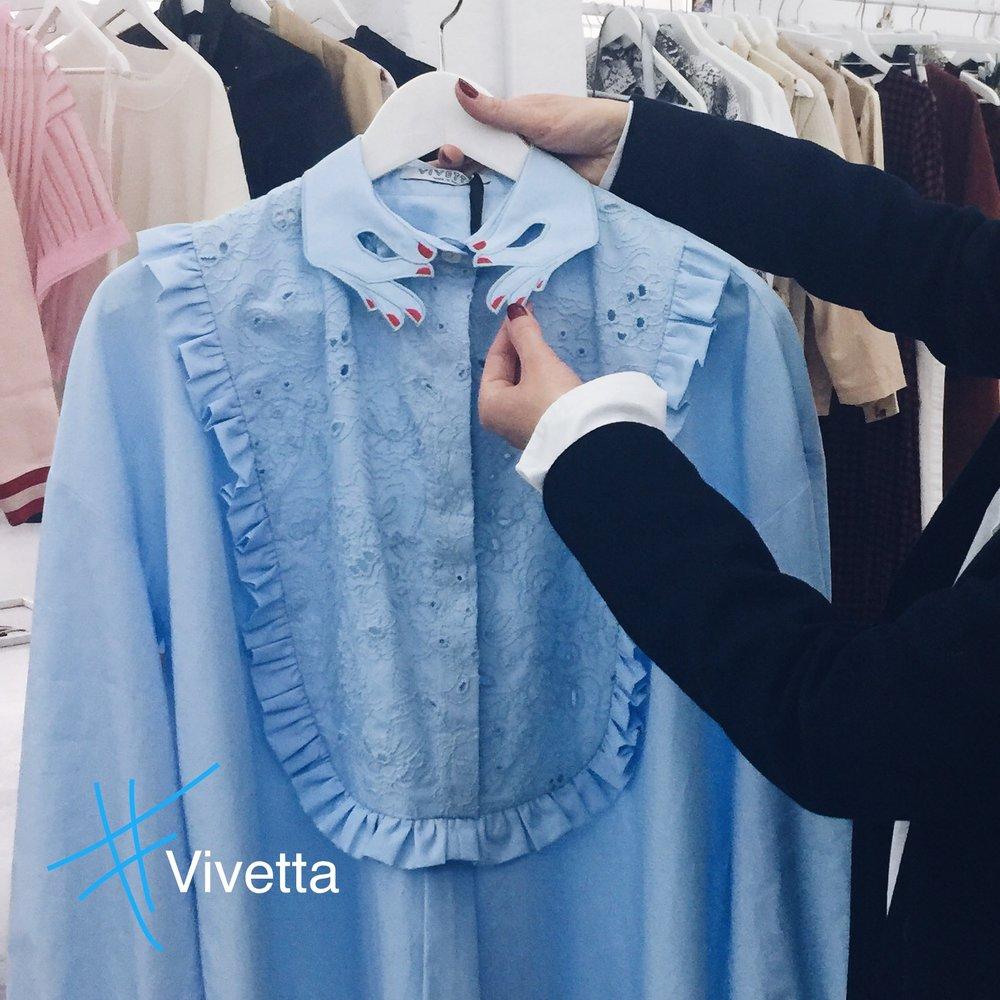 Ein Label, welches durchgängig AHs und OHs verursachte. Vivetta kommen aus Italien und ihr Signature Style sind diese aufwendigen Krägen. Ich werden euch das Label noch einmal separat vorstellen. Deal?
