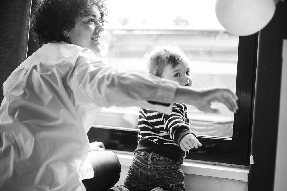 Mit meinem Sohn Rio by Steffen Roth