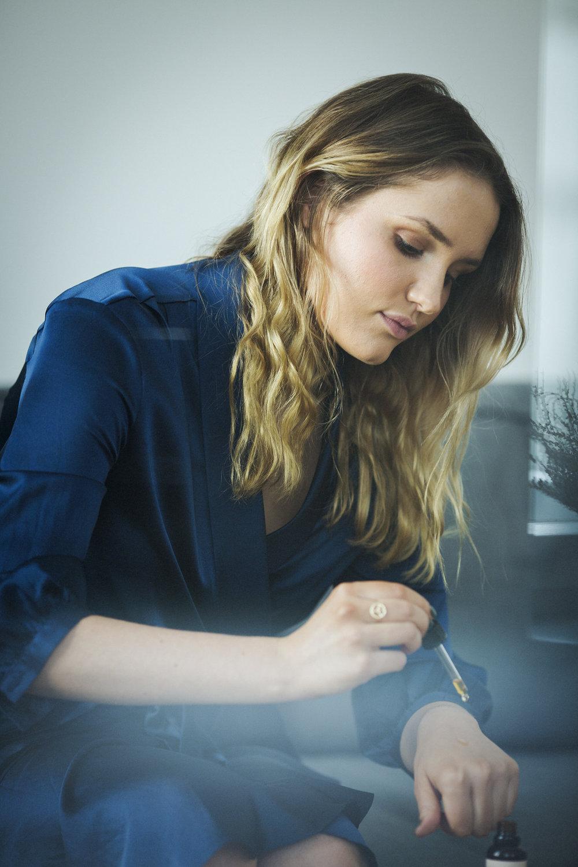 Claire Ralston, Gründerin von Merme, fotografiert am 16.03.2017 in ihrem Büro in Berlin-Mitte. Foto: Steffen Roth
