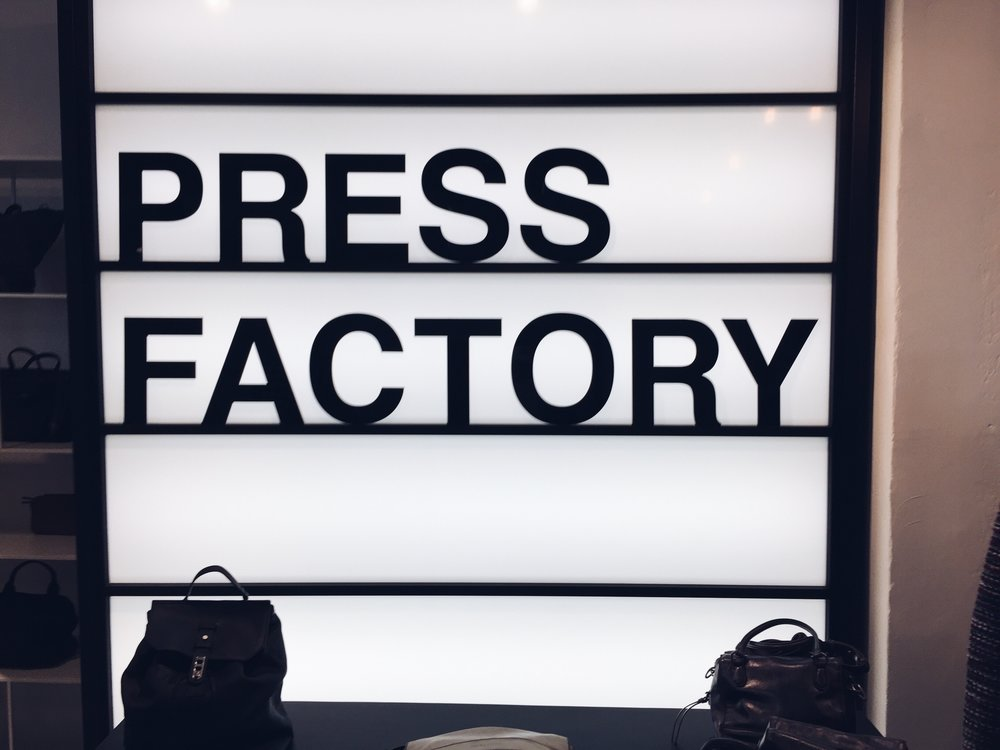 Agency Visit   - Press Factory