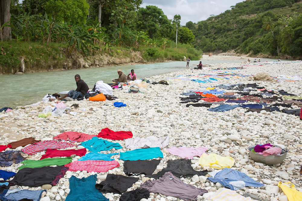 Pampers für UNICEF 2017: Projektreise nach Haiti mit Aktionsbotschafterin Bettina Zimmermann