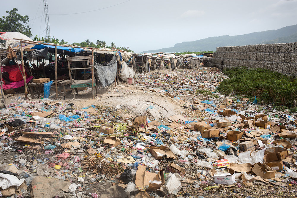 Lebensbedingungen in Haiti