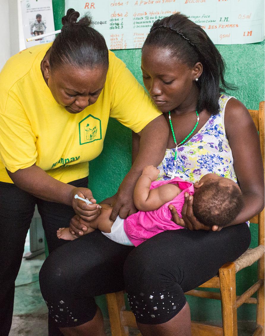 Krankenhaus in Jacmel