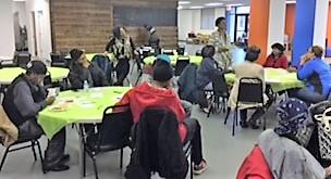 March 16, 2018 Dinner Club drew a crowd