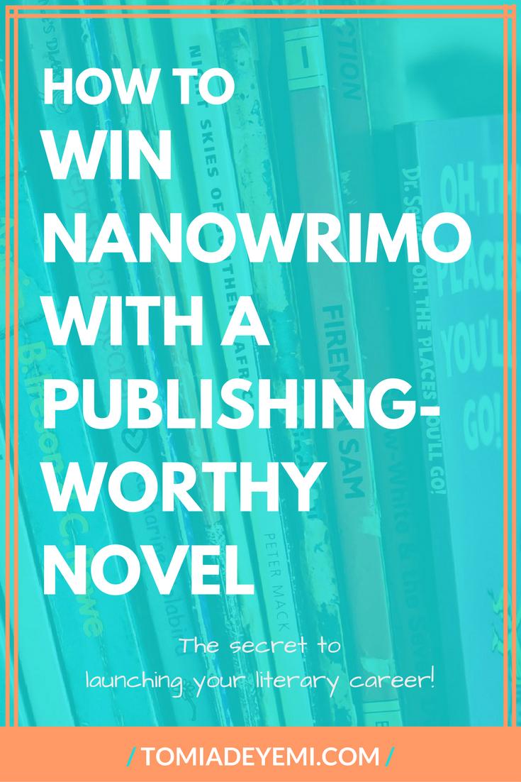 How to Win NaNoWriMo