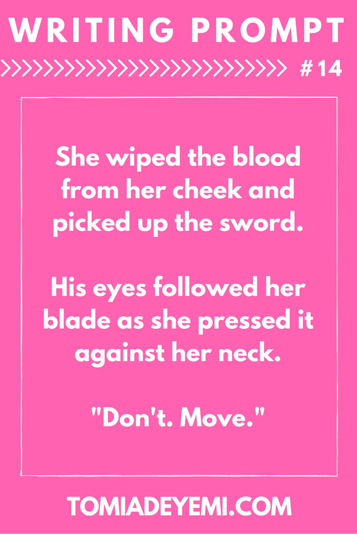 writing prompt 14 tomi adeyemi children of blood and bone