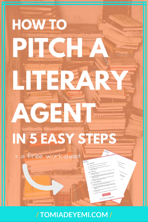 How To Pitch A Literary Agent In 5 Easy Steps Tomi Adeyemi