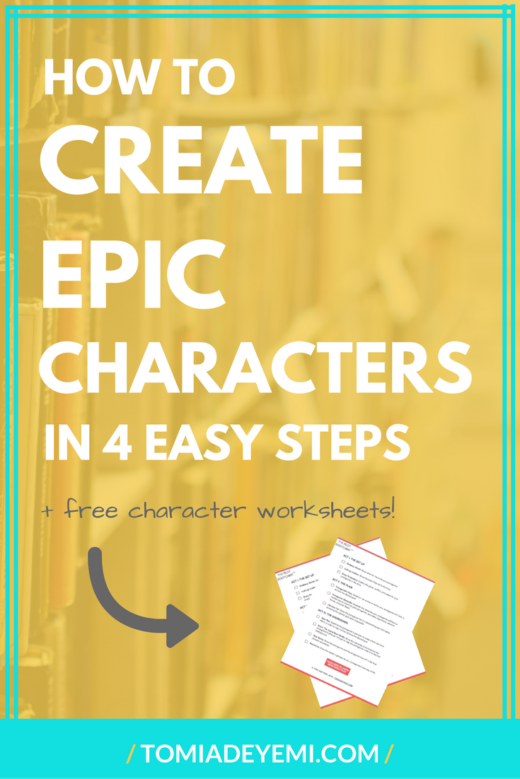 How To Create Kick-Ass Characters In 4 Easy Steps