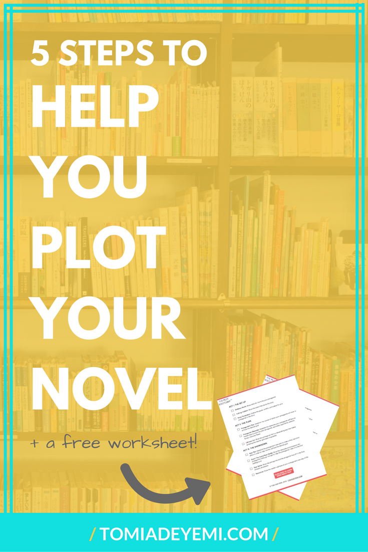 5 Steps To Help You Plot Your Novel Today