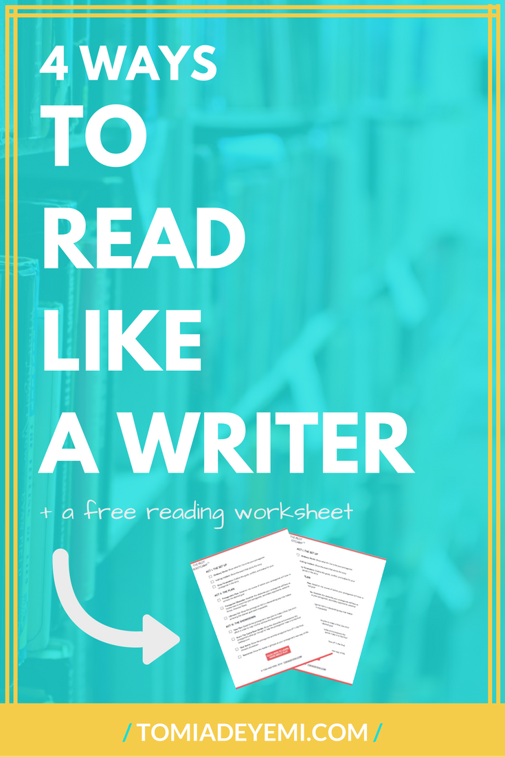 4 Ways To Read Like A Writer